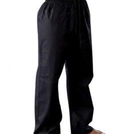 Black Karate Trousers