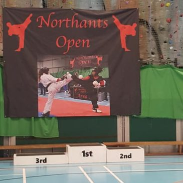 We are at the Northants Open Today!