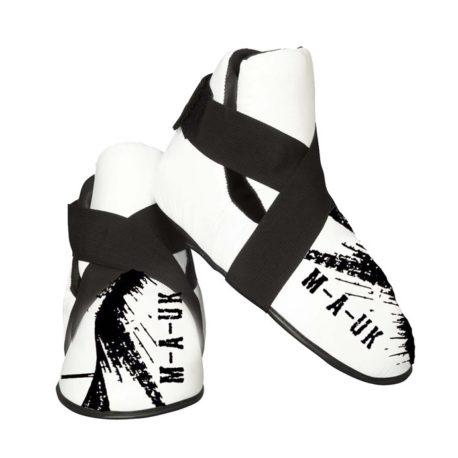 MAUK feet pads white and black