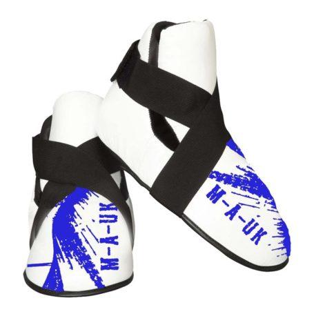 MAUK feet pads white and blue