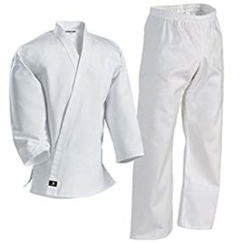 White Karate Suit