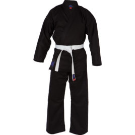 Black Karate Suit
