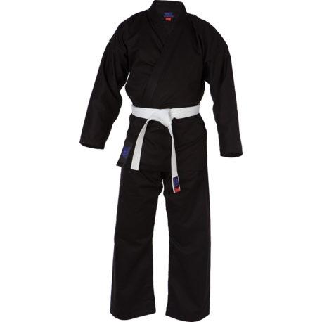 black Karate Suit