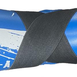 Martial Arts U.K SHINE – Sparring Feet Pads – Blue and White Splash
